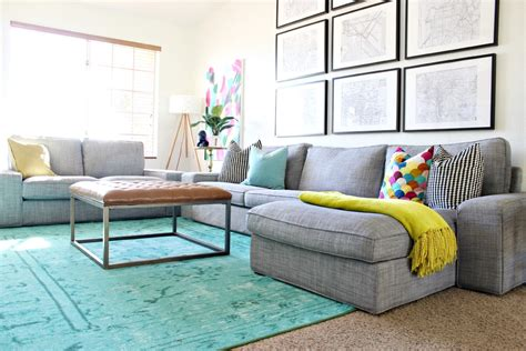 Colorful Living Room Furniture Mallory S Rental Home Tour Goodbye To Sericin Circle Clutter