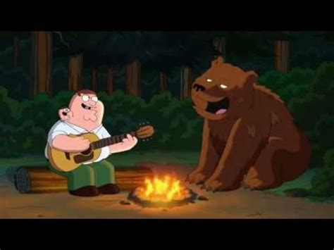 peter griffin boat family guy michael rowed a boat hallelujah song youtube