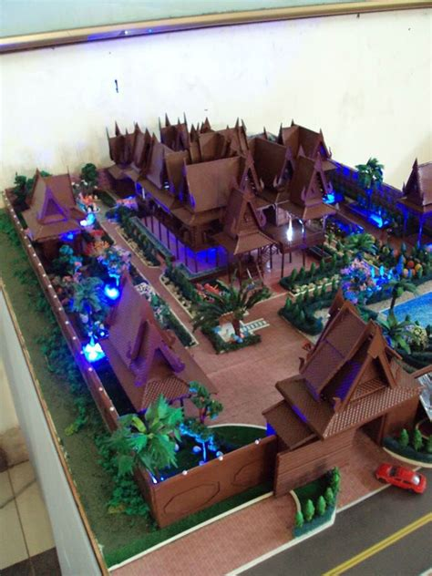 khmer house architectural models pinterest house
