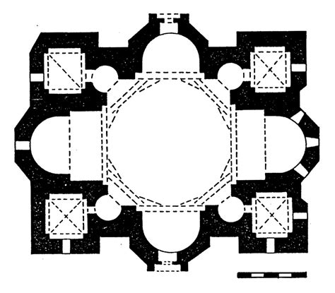 Jefferson Floor Plan by 3 3 1 2 1 The Greek Cross Type Quadralectic Architecture