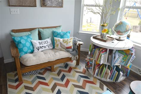 kid friendly living room spring home tour 2016