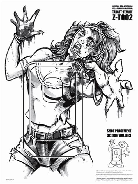 printable zombie head targets zombie targets pinteres