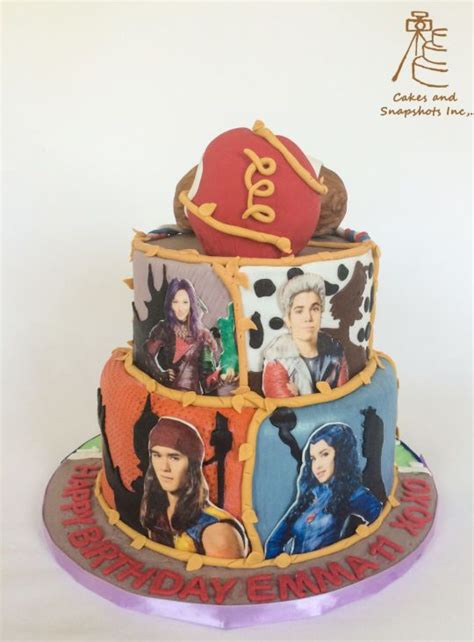 best 25 descendants cake ideas on descendants cake search ideas disney cas and colors
