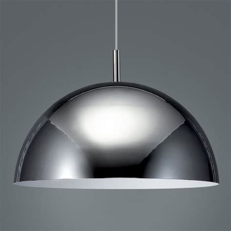 philips pendant lighting shop philips roomstylers 15 7 in chrome industrial dome