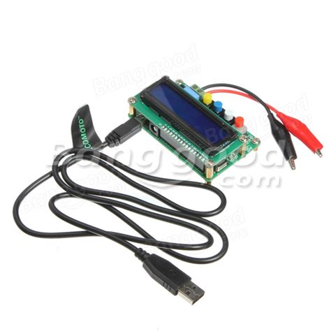 usb line inductor lc100 a precision digital capacitance meter inductance meter us 22 99