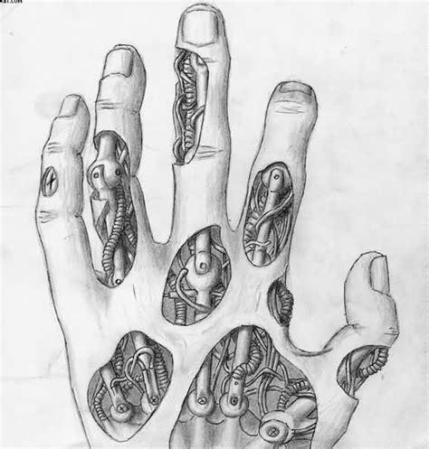 biomechanical tattoo vorlagen biomechanical hand tattoo sketch biomechanik pinterest