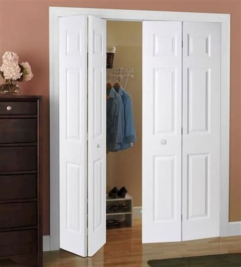 Bifold Closet Doors Menards Mastercraft 30 Quot X 80 Quot Primed 6 Panel Smooth Colonist 2