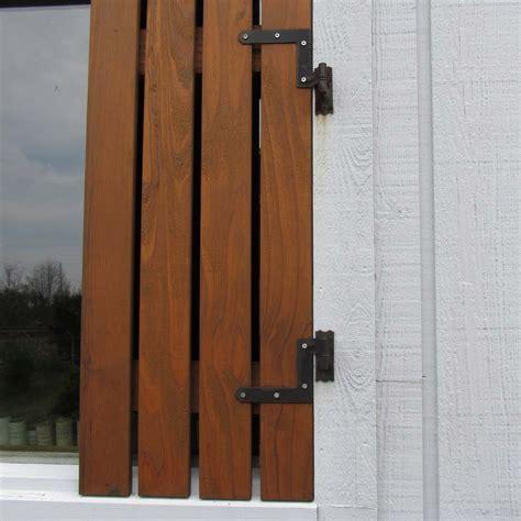 Shutter Hinge (Black) / Pair   Capitol City Lumber