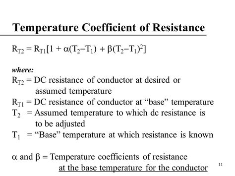 temperature coefficient of carbon resistor 28 images temperature coefficient of resistivity