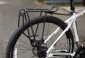 rear pannier racks for chainstays and heel