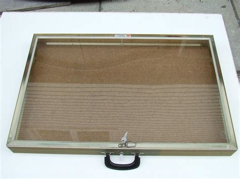 used glass table top portable glass table top display 34 quot x22 quot x3 quot central