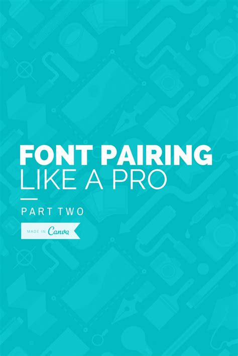 canva font pairing pin by canva on canva blog posts pinterest