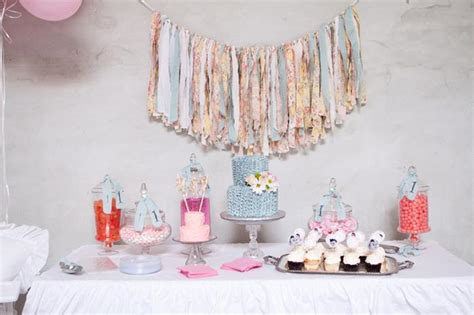 kara s party ideas 187 shabby chic 1st birthday party with