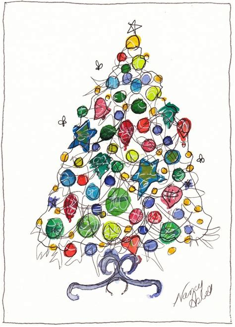 12 best holiday cards images on pinterest watercolor