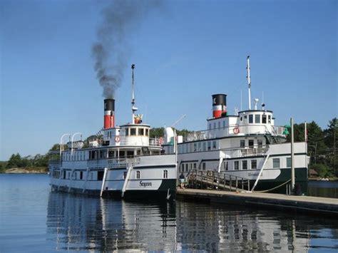 boat launch gravenhurst muskoka steamships picture of muskoka steamships