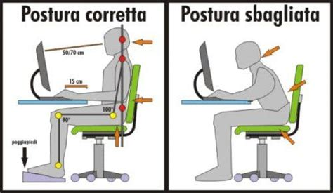 postura corretta da seduti postura corretta al pc come si deve stare seduti nelle