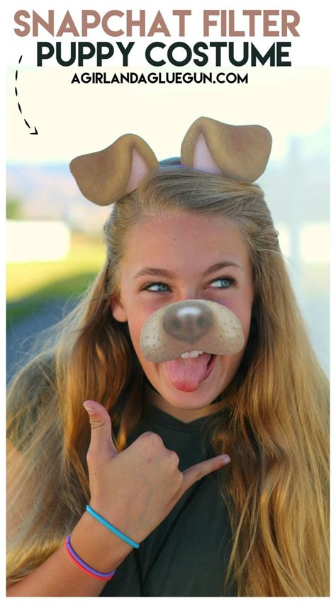 snapchat filter puppy costume   printable
