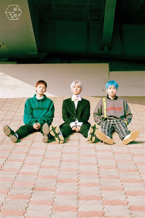 exo cbx exo cbx look like 3 princes in blooming days group