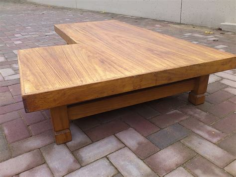 L Shaped Coffee Table Remarkable L Shaped Coffee Table All About House Design