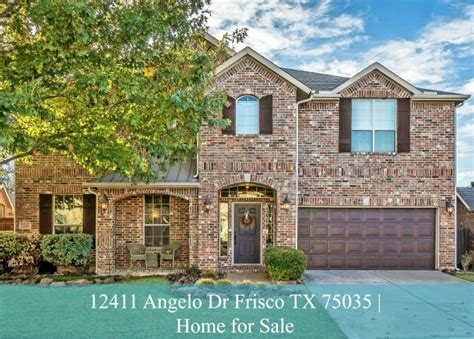 12411 angelo dr frisco tx 75035 home for sale