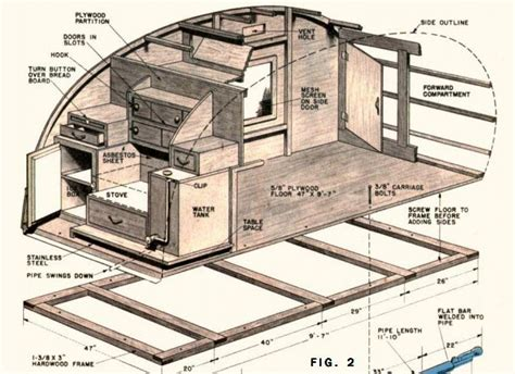 teardrop trailer floor plans how to build a teardrop trailer for two tr 230 arbejde