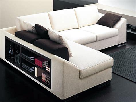 divano angolare con libreria divano con libreria nello schienale idee per il design