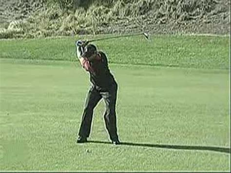 tiger woods swing vision swing vision tiger woods 07 target 3 wood youtube