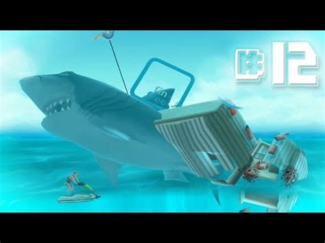 hungry shark evolution megalodon santa dropping bombs eating santa download megalodon 30 minutes smashed hungry shark