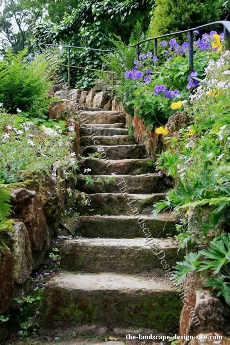 Rock Garden Steps Best 25 Landscape Stairs Ideas On Garden