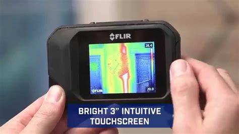 Kamera Flir C2 Pocket Thermal Termal Asli Ukuran Kantong flir c2 pocket infrared thermal imaging that fits in an hvac technician s pocket
