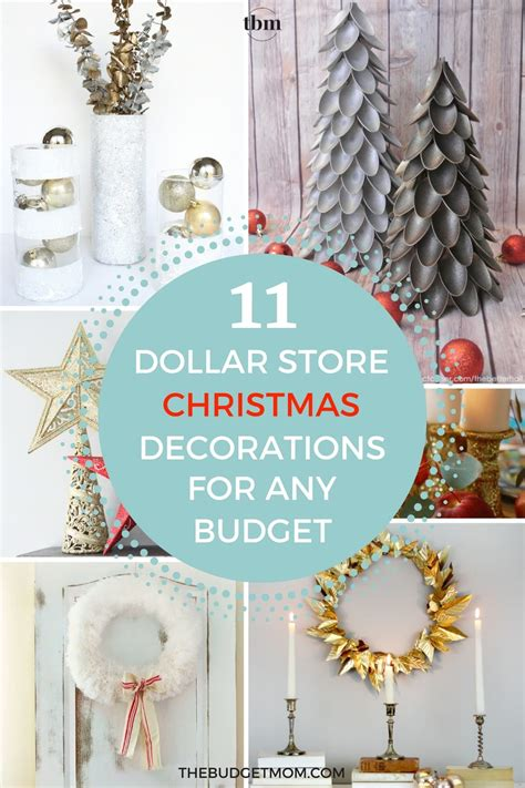 best christmas decor on a budget 11 glamorous dollar store decorations for any budget the budget