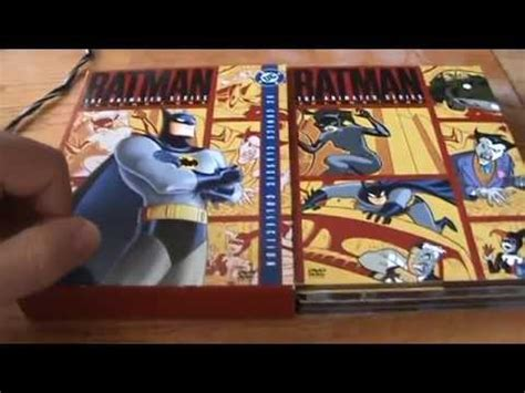 The Series Volume 1 batman the animated series volume 1 dvd unboxing