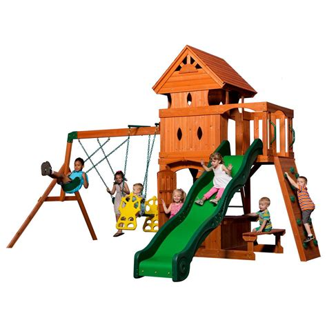 backyard discovery monterey backyard discovery monterey all cedar playset 6012com