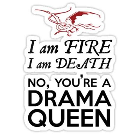 the hobbit drama queen smaug sticker