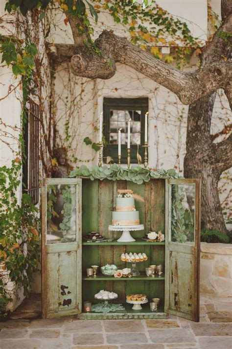 Mint   Brass Vintage Wedding Inspiration   Atelier Christine