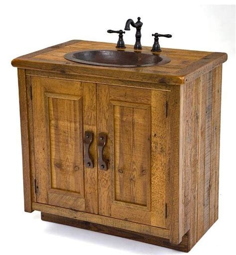 Barnwood Bathroom Vanity 30 Quot Bathroom Vanity Reclaimed Barnwood Inspiration