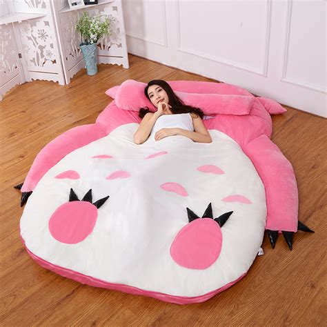 giant totoro bed ღ ღ5 colors large ᗖ totoro totoro single and double bed