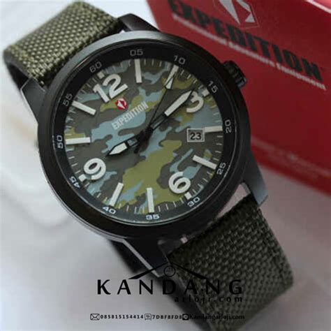 Expedition E6671 Army Original jual jam tangan expedition e6671 army loreng hijau murah