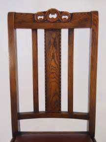 Oak Dining Chairs Antique Set 4 Vintage Oak Dining Chairs Circa 1920s Antiques Atlas
