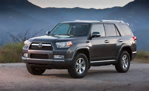 Toyota Four Runner 2012 Car And Driver