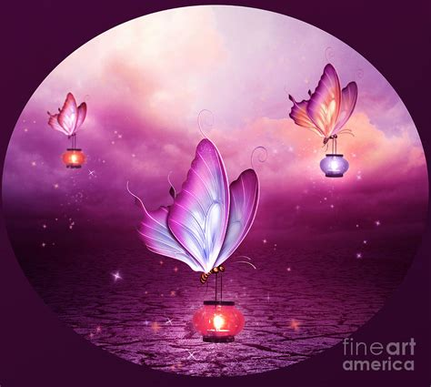 Butterfly Lights 2 Digital Art By Jessica Allain Butterfly Lights