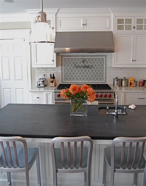 Soapstone Kitchen by The Granite Gurus Whiteout Wednesday Five White Kitchens