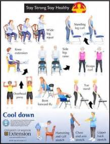 On pinterest chair exercises exercises for seniors and chair yoga