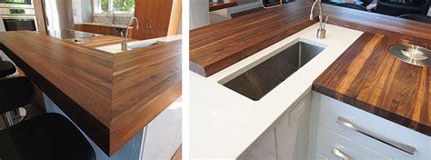 comptoir de bois design cuisine r 233 nom3