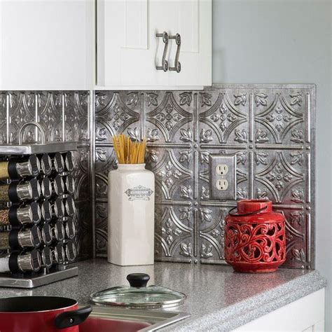 decorative backsplash null 18 in x 24 in traditional 1 pvc decorative