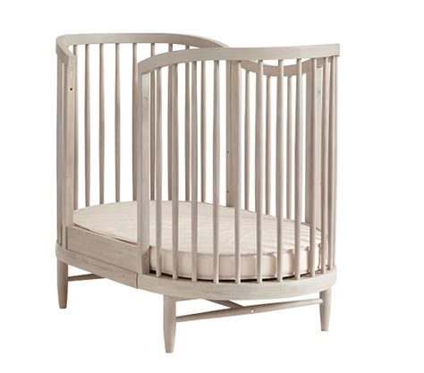 Luna Oval Crib Conversion Kit Pottery Barn Kids Oval Baby Crib