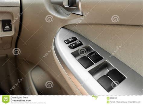 Car Interior Door Handle Car Interior Details Stock Photo Image 61441372