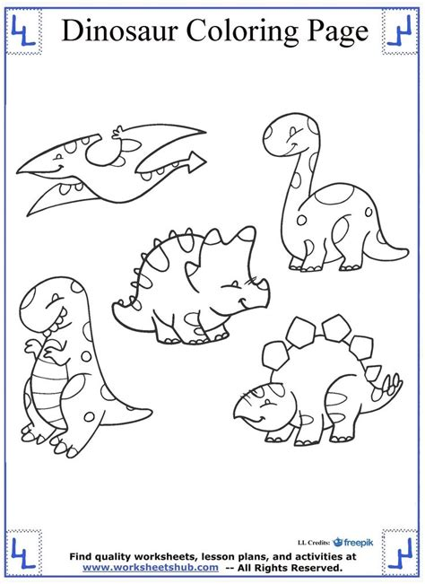 dinosaur color 16 best dinosaur coloring pages images on