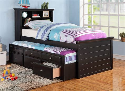 trundle bed with bookcase comfortable trundle bed with bookcase design trends