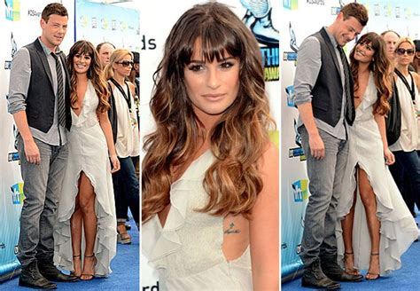lea michele cory tattoo 301 moved permanently
